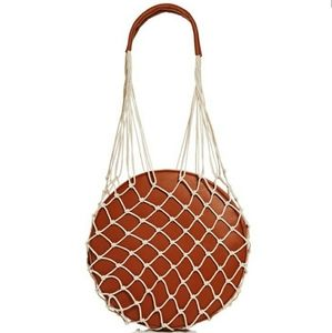 Woven Round Shoulder Bag